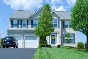 home with premium hardie siding